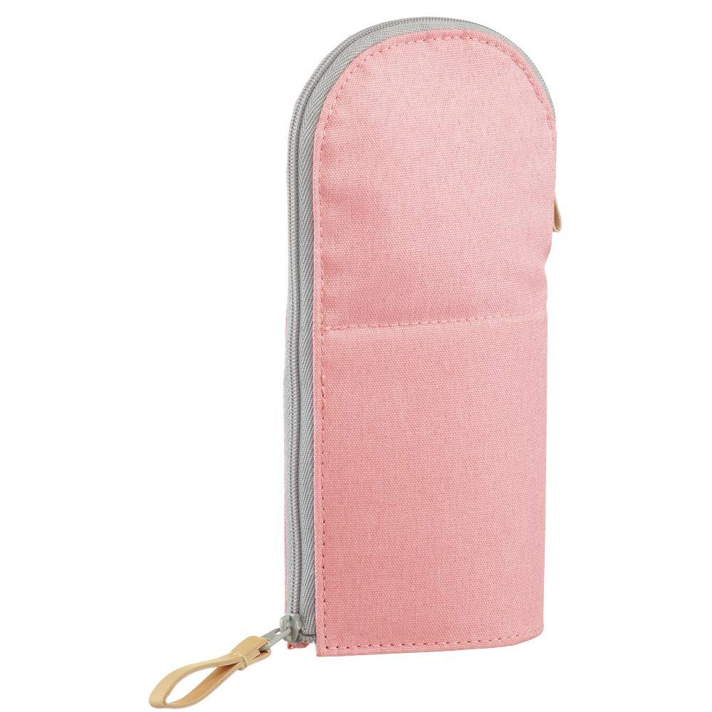 KOKUYO 站立筆袋-柔色圓領粉