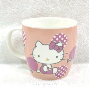 【Hello Kitty】復古紅圓點馬克杯