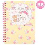 Kitty 筆記本B6-花