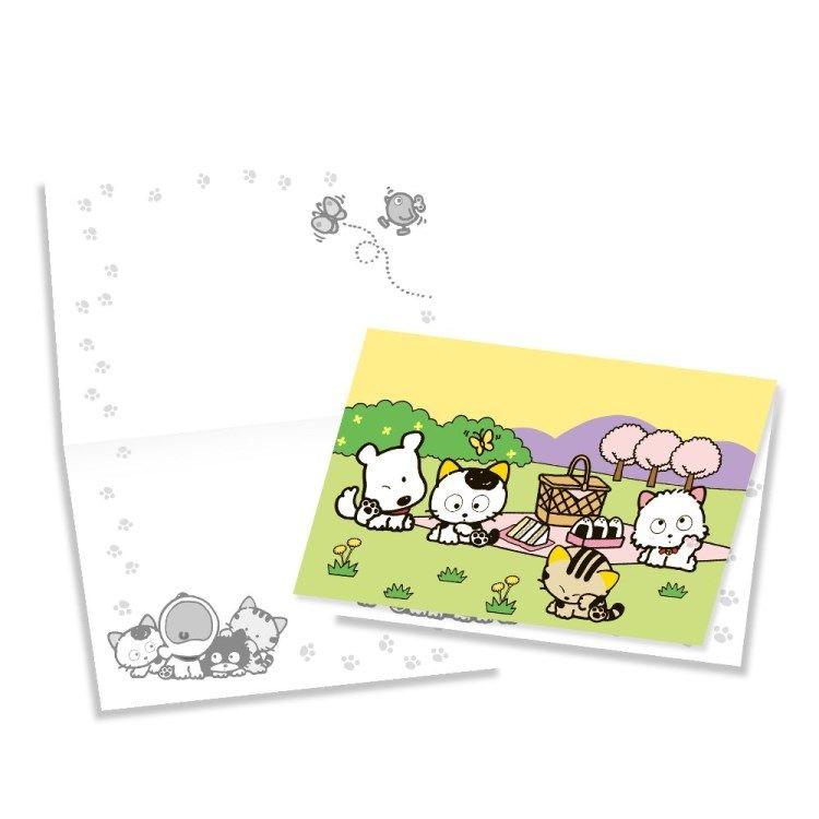 Tama & Friends萬用卡片-春
