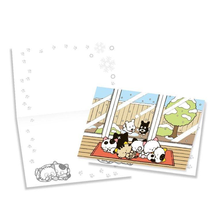 Tama & Friends萬用卡片-冬