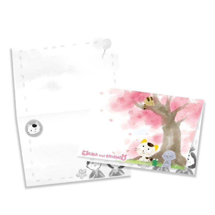 Tama & Friends萬用卡片-女兒節