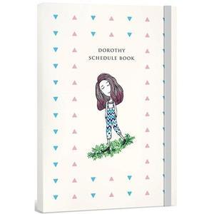Dorothy無時效日誌手帳(含貼紙+書籤)-三角點點