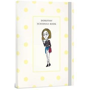Dorothy無時效日誌手帳(含貼紙+書籤)-黃色點點