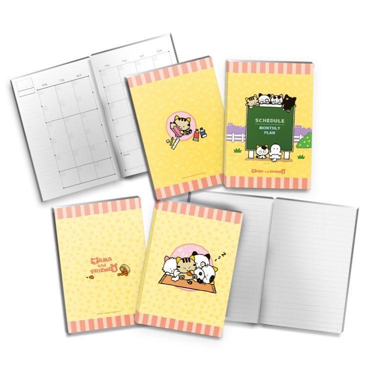 Tama & Friends手帳-月計畫