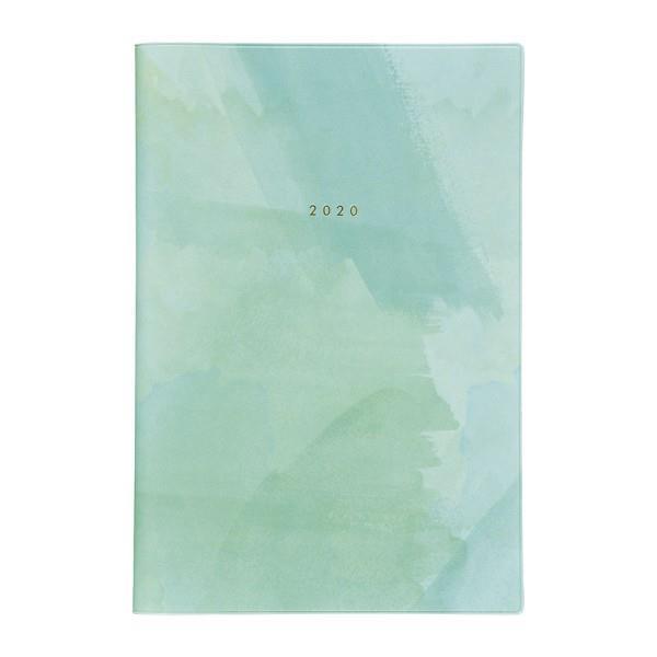 2020年【Mark's】一日一頁日誌  Printed Jacket-水彩薄荷