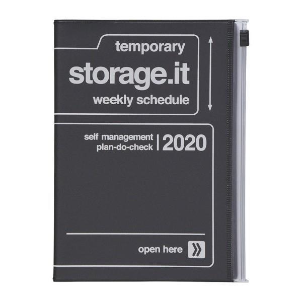2020年【Mark's】週計畫周誌 Storage.it -黑