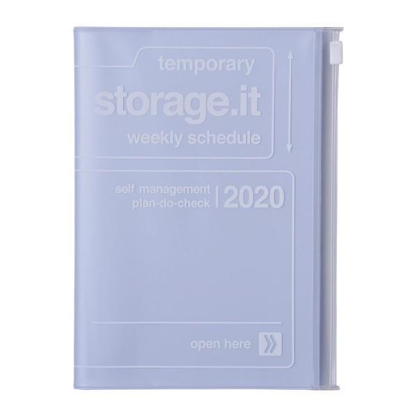 2020年【Mark's】週計畫周誌 Storage.it -藍