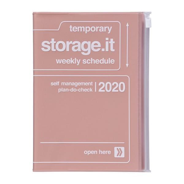 2020年【Mark's】週計畫周誌 Storage.it -粉紅