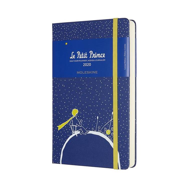 2020年【MOLESKINE】小王子日記12M-L藍
