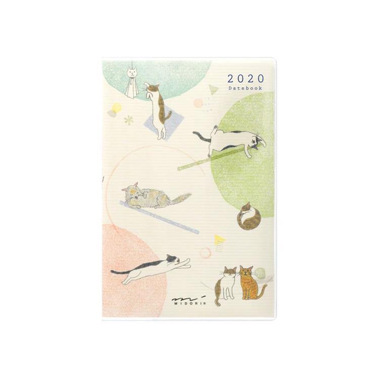 2020手帳迷你(月間)小貓咪