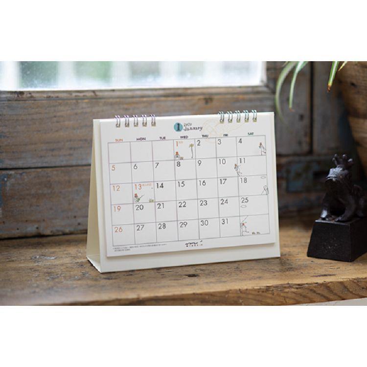 2020桌上型月曆(M)-歐吉桑