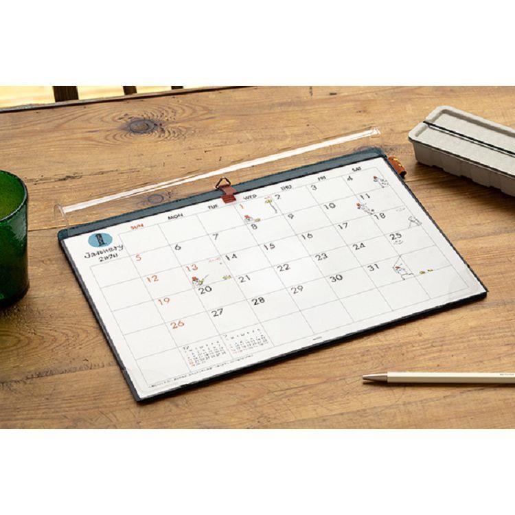 2020桌上吊掛月曆A4歐吉桑