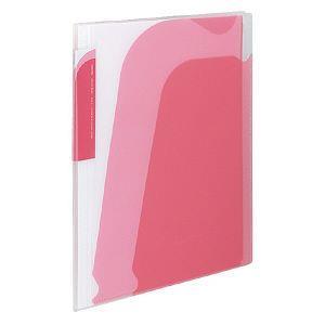 KOKUYO Novita 5層檔案資料夾(附夾鍊袋) 粉