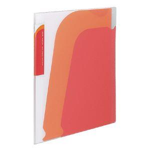KOKUYO Novita 5層檔案資料夾(附夾鍊袋) 紅