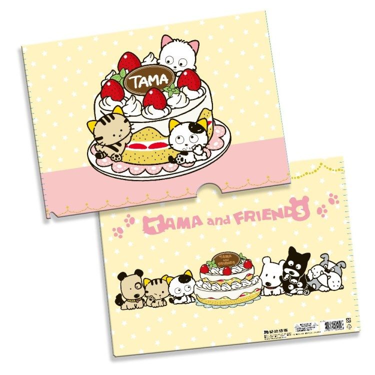 Tama & Friends L夾-Tama食蛋糕
