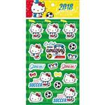 2018世足Hello Kitty貼紙 SR-ST215