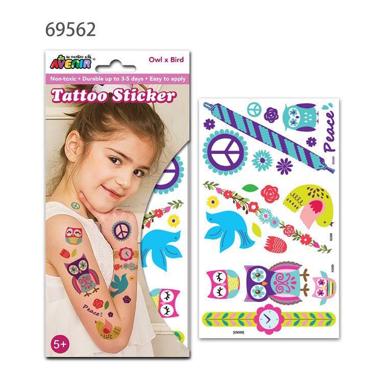 AVENIR Kids / 男孩女孩個性刺青貼-刺青貼A 69562