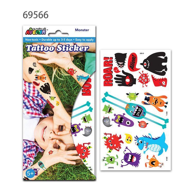 AVENIR Kids / 男孩女孩個性刺青貼-刺青貼B 69566