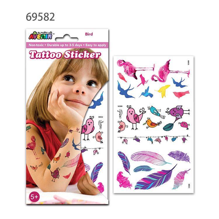 AVENIR Kids / 男孩女孩個性刺青貼-刺青貼F 69582