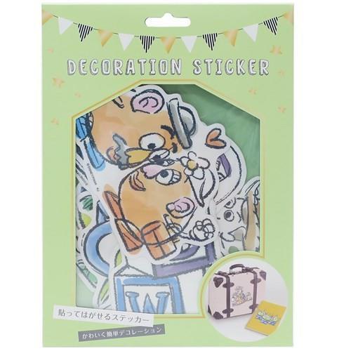 可再黏裝飾貼紙包-玩具總動員