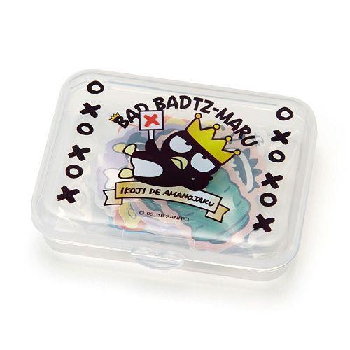 【Sanrio】散裝貼紙組(附收納盒)-酷企鵝
