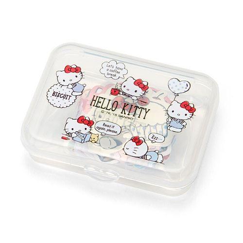 【Sanrio】散裝貼紙組(附收納盒)-Kitty