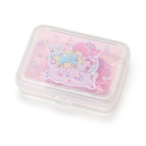 【Sanrio】散裝貼紙組(附收納盒)-雙子星
