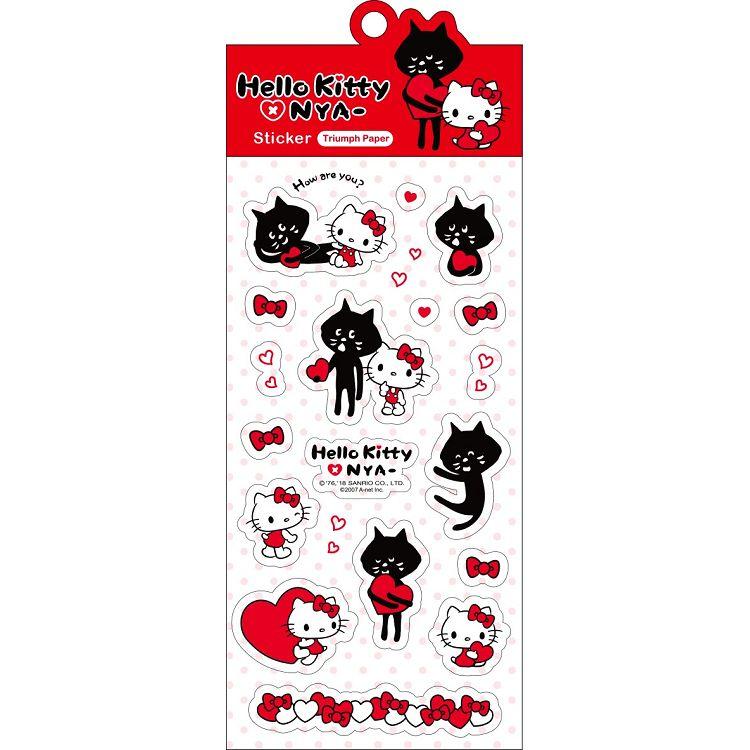 Hello Kitty x NYA-貼紙SR-ST218