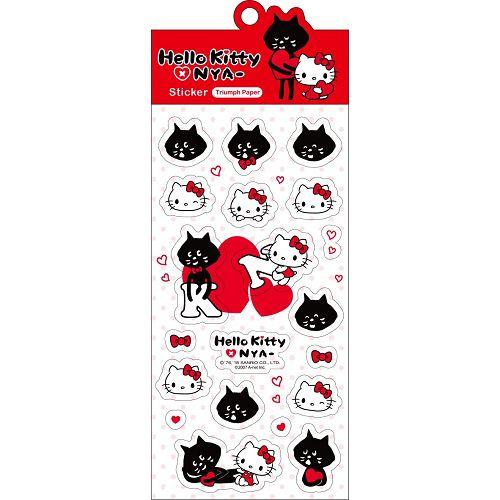 Hello Kitty x NYA-貼紙SR-ST219