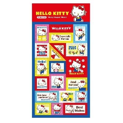 Hello Kitty郵票貼紙