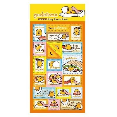 Gudetama郵票貼紙
