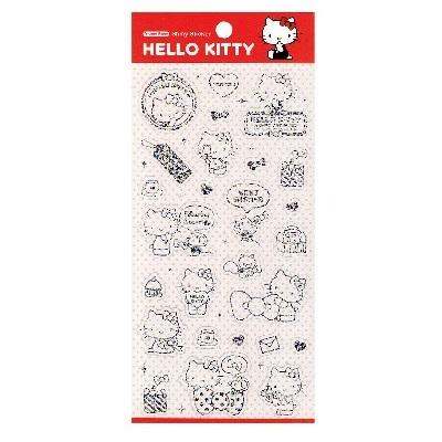 Hello Kitty華麗裝飾貼紙
