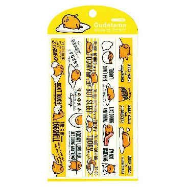 Gudetama蛋黃哥裝飾貼紙