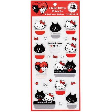 Hello Kitty x NYA-站立書籤貼紙SR-ST273-A款