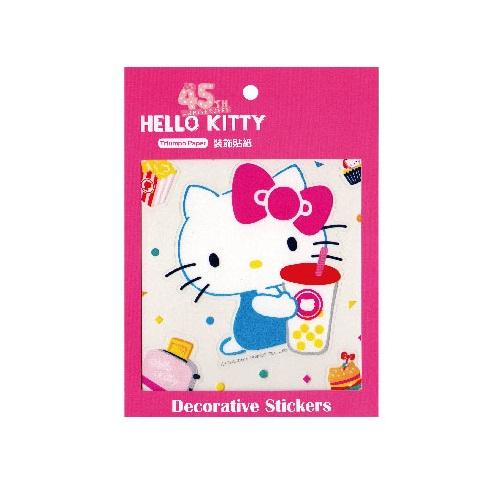 Hello Kitty45週年裝飾貼紙