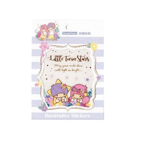 LittleTwinStars裝飾貼紙-花草系