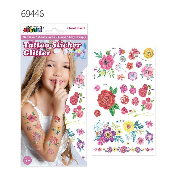 AVENIR Kids / 閃光刺青貼- 花朵 69446