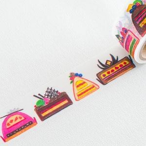 Aimez le style 日本進口和紙膠帶-Cutaway Cakes