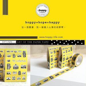 【hoppy】 Life-Camera1 相機黃紙膠帶
