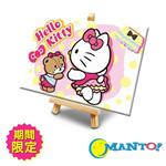 Manto DIY數字油畫-Kitty奇幻樂園-明信片