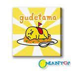 Manto DIY數字油畫-蛋黃哥-黃金蛋包飯-20*20