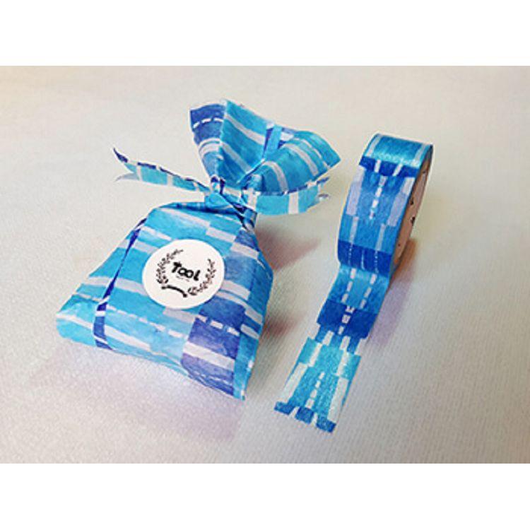 【TooL】蜜糖季節-窗花_藍 紙膠帶