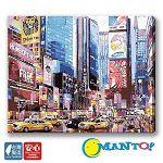 【Manto】DIY數字油畫-紐約街區-40*50