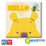 【Manto】DIY數字油畫-小熊維尼-30*30