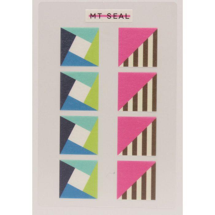 【日本MT和紙膠帶】標籤貼-幾何學四角形