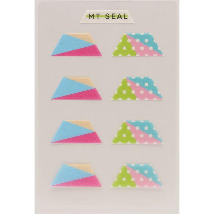 【日本MT和紙膠帶】標籤貼-幾何學梯形