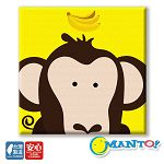 Manto DIY數字油畫-大嘴猴