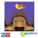 Manto DIY數字油畫-美國野牛