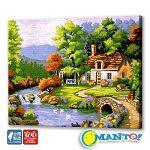 Manto DIY數字油畫-聚福居-40*50